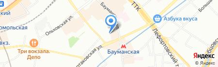 КАРТРИДЖИ на карте Москвы