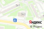 Схема проезда до компании Клеопатра в Москве