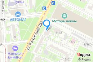 Сдается однокомнатная квартира в Москве ул. Рогожский Вал, 11к1