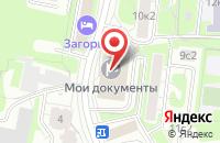Схема проезда до компании Ресгео в Москве