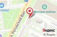 Схема проезда до компании ЭлБиИнтер в Москве
