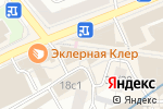 Схема проезда до компании Kadril в Москве