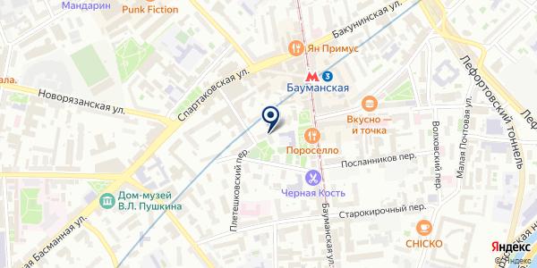 UnitLand на карте Москве