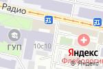 Схема проезда до компании Миранда-Т в Москве