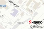 Схема проезда до компании Стройцентр Сокольники в Москве