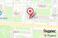 Схема проезда до компании Магия развлечений в Москве