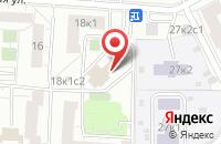 Схема проезда до компании Строй-Алро в Москве