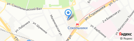 Merci на карте Москвы