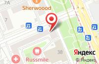 Схема проезда до компании Прогресс-Транс в Москве