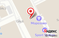 Схема проезда до компании Механика в Москве