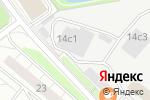 Схема проезда до компании Бланх в Москве