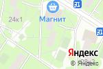 Схема проезда до компании ДомоВед-Оценка в Москве