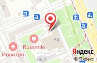 Схема проезда до компании Интер-Финанс в Москве