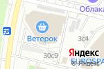 Схема проезда до компании Астрал Дизайн в Москве