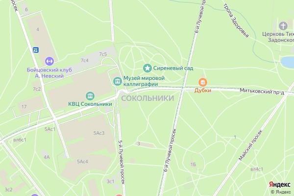 Ремонт телевизоров Район Сокольники на яндекс карте