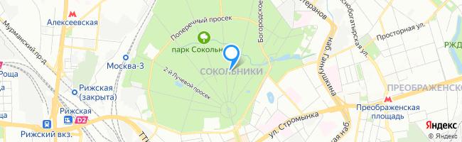 район Сокольники