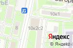 Схема проезда до компании Артфотодизайн в Москве