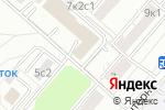 Схема проезда до компании Топфабрикс в Москве