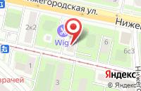 Схема проезда до компании Золотая Нива в Москве