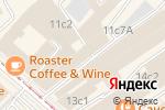 Схема проезда до компании Интер Кварц в Москве