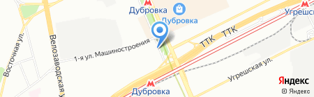 Навикон Групп на карте Москвы