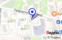 Схема проезда до компании ПТФ ПРОМСТРОЙКОМ в Москве