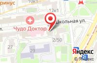 Схема проезда до компании Институт Экономических Стратегий в Москве