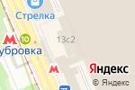 Схема проезда до компании Рекаунт Групп в Москве