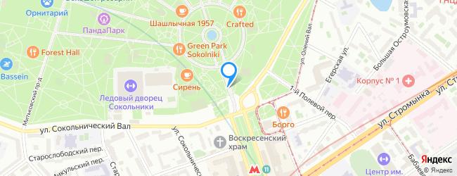 проезд Сокольнический павильонный