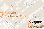 Схема проезда до компании Индаст Реал в Москве