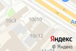 Схема проезда до компании Тремба в Москве