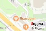 Схема проезда до компании Пятерочка в Москве
