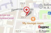 Схема проезда до компании Московская типография 13 в Москве
