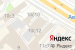 Схема проезда до компании Inter Portfolio в Москве