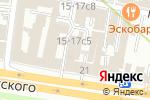 Схема проезда до компании На Парах в Москве