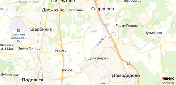Большое Брянцево на карте