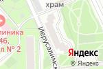 Схема проезда до компании Выставка и Праздник в Москве