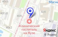 Схема проезда до компании КОМПЬЮТЕРНАЯ ФИРМА КРОК ИНКОРПОРЕЙТЕД в Москве