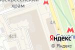 Схема проезда до компании МК-Финанс в Москве