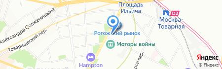 Дельта Копирс на карте Москвы