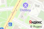 Схема проезда до компании Кутузовский Проспект в Москве