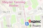 Схема проезда до компании АКБ САРОВБИЗНЕСБАНК в Москве