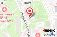 Схема проезда до компании Библейско-Богословский Институт Святого Апостола Андрея в Москве