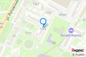 Снять однокомнатную квартиру в Москве ул. Рогожский Вал, 13к2