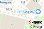 Схема проезда до компании Точка Еды в Москве