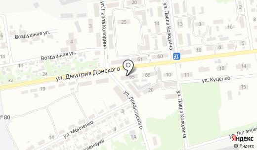 Леон. Схема проезда в Донецке