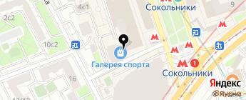 Мотоквартал на карте Москвы