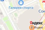 Схема проезда до компании Glance в Москве