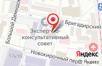 Схема проезда до компании Стоун - Маркет в Москве