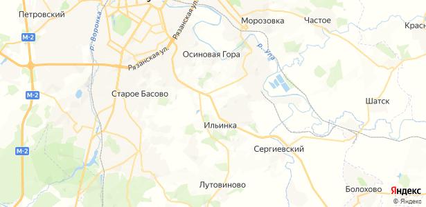 Большая Еловая на карте